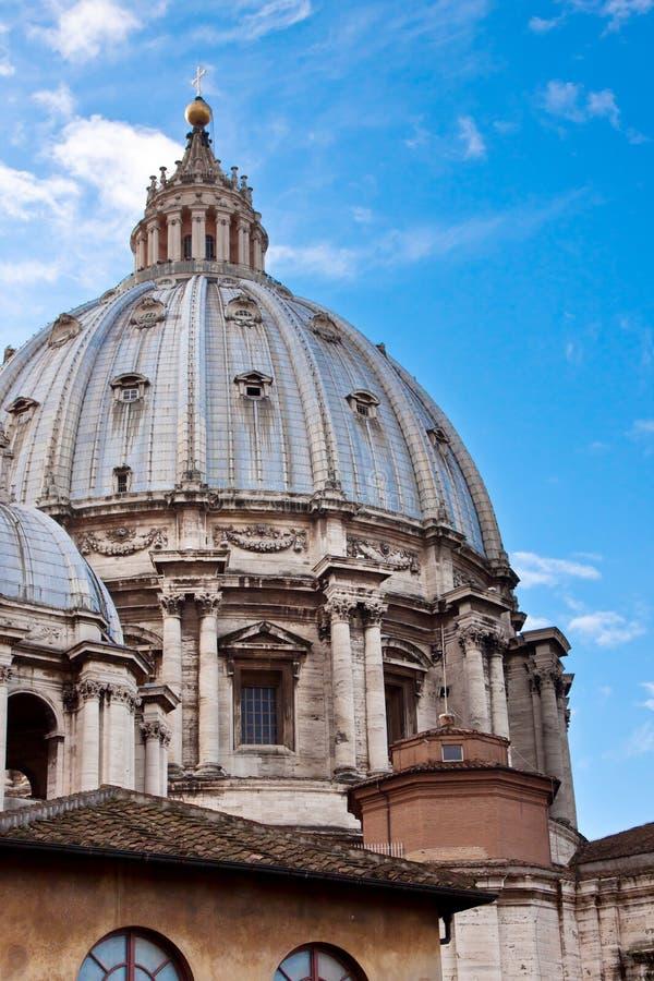 basilicapeter s st vatican royaltyfria foton