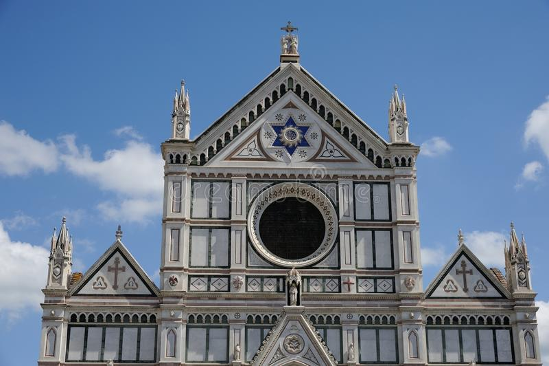 Basilice Di Santa Croce stockfotos
