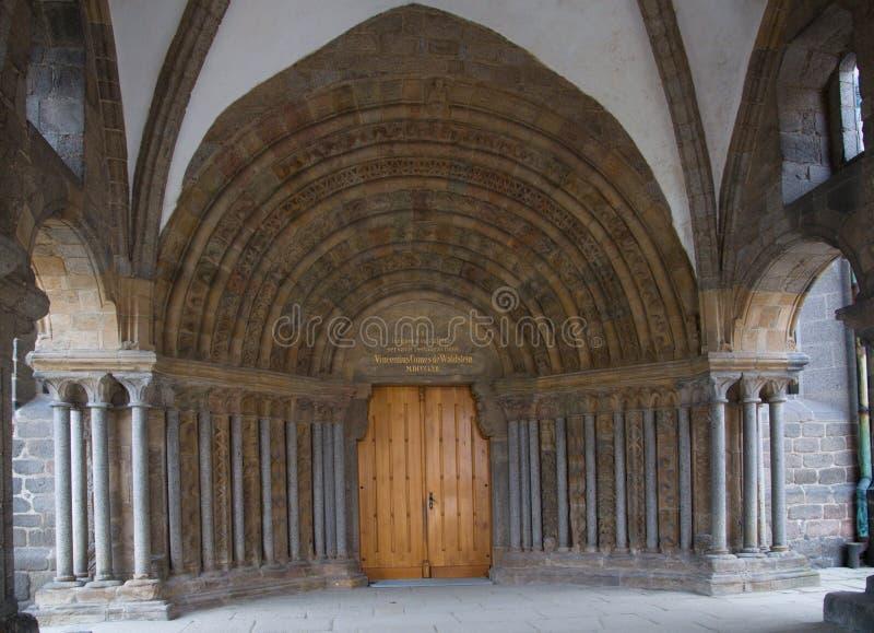 Basiliek Heilige Prokopius in Trebic royalty-vrije stock fotografie