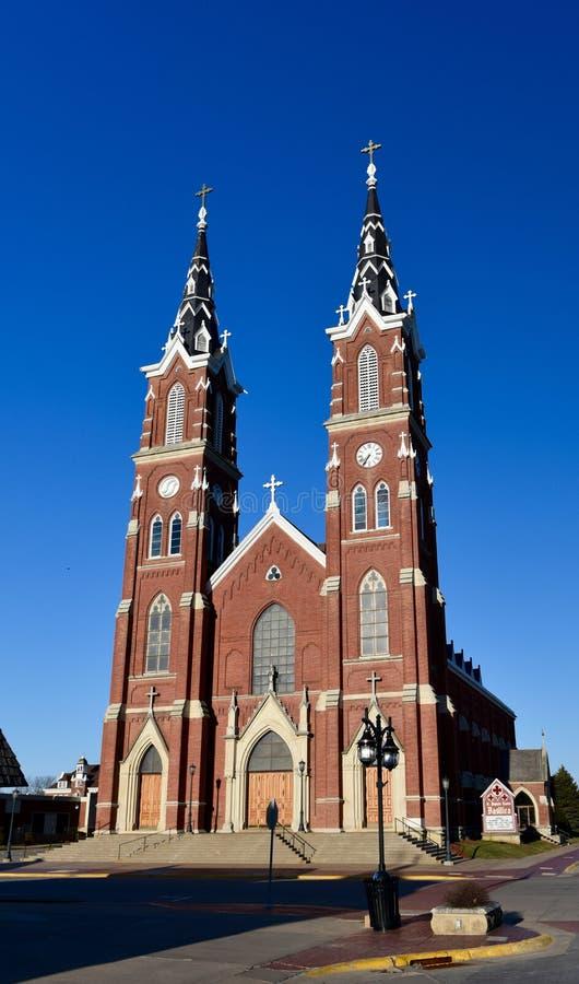 Basiliek in Iowa royalty-vrije stock fotografie