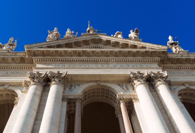 Basiliek San Giovanni in Laterano in Rome stock fotografie