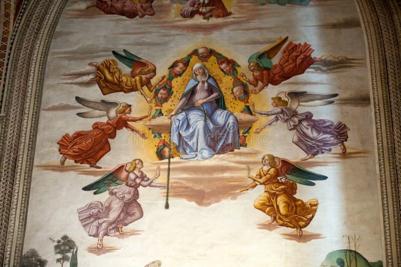 Basiliek Santa Croce in Florence. royalty-vrije stock fotografie
