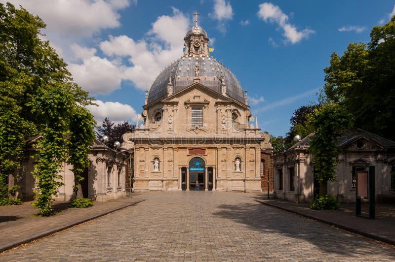 Basiliek Scherpenheuvel, België stock afbeelding