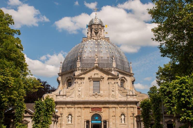 Basiliek Scherpenheuvel, België stock foto's