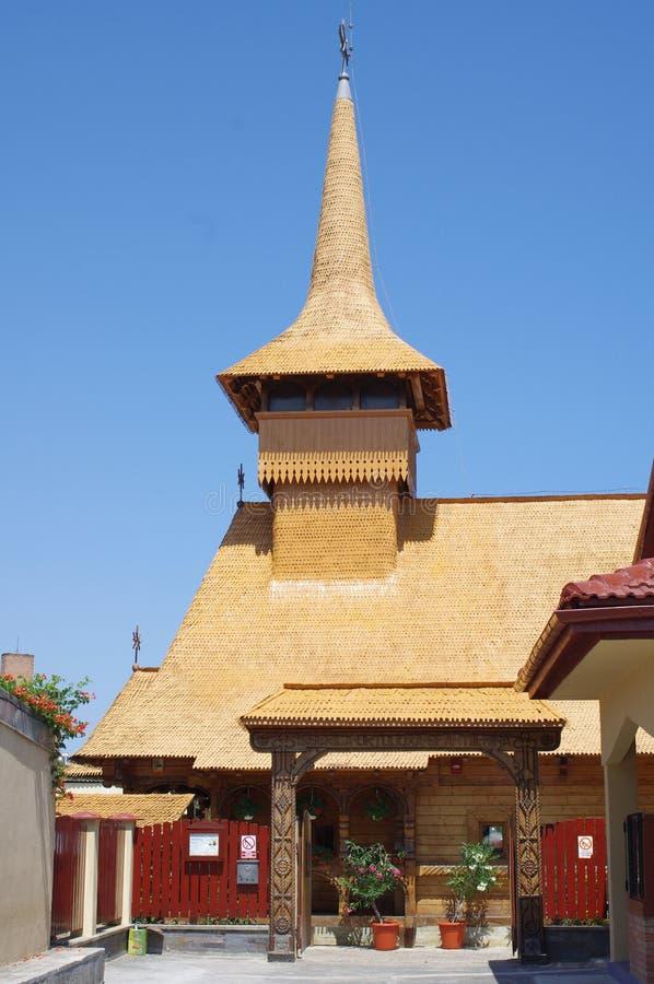 Basiliek Sfantul Mina in Mangalia, Roemenië stock foto