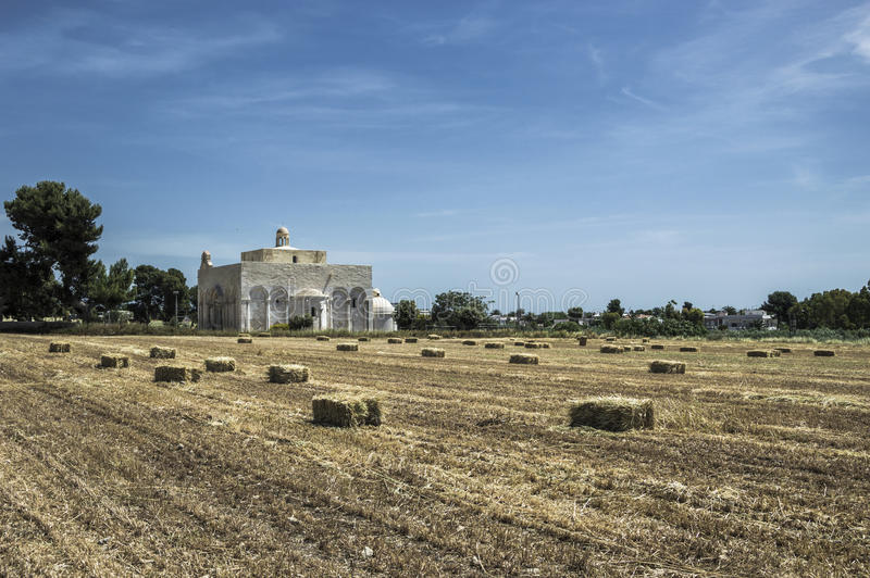 Basiliek Siponto royalty-vrije stock foto