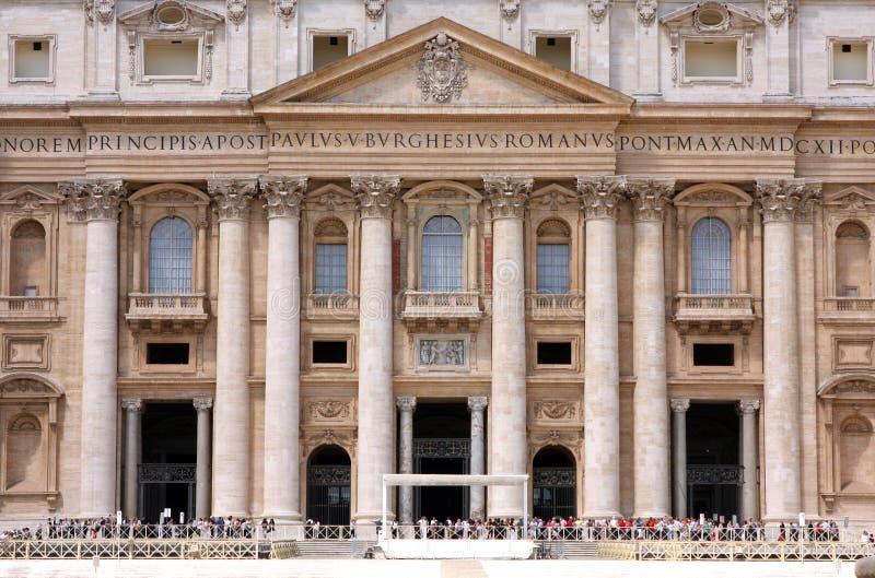 Basiliek St Mark Vatican Rome Italy royalty-vrije stock afbeeldingen