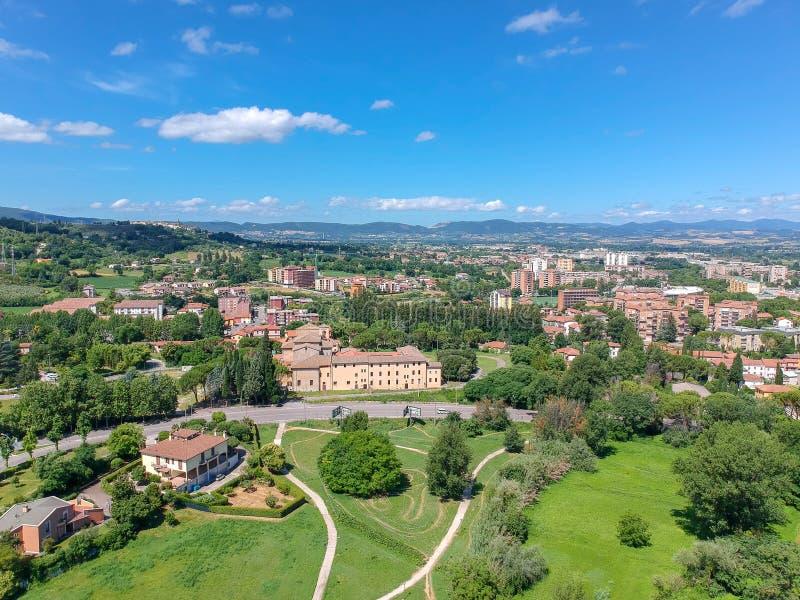 Basiliek StValentino, Terni, Italië stock foto's