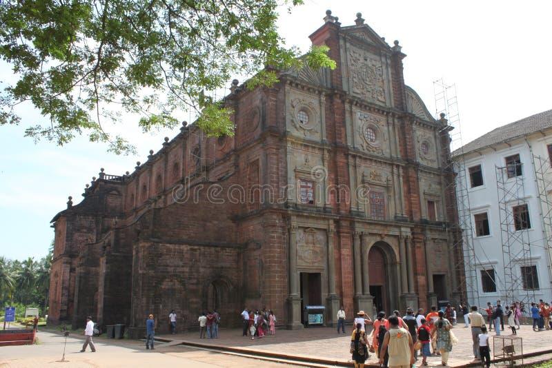 Basiliek van Bom Jesus, Goa royalty-vrije stock fotografie