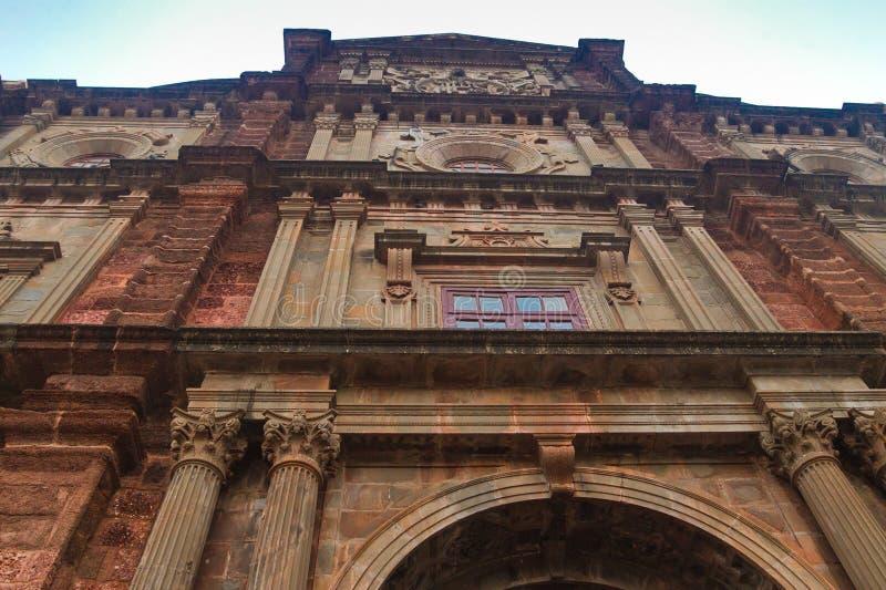 Basiliek van Bom Jesus, Goa stock fotografie