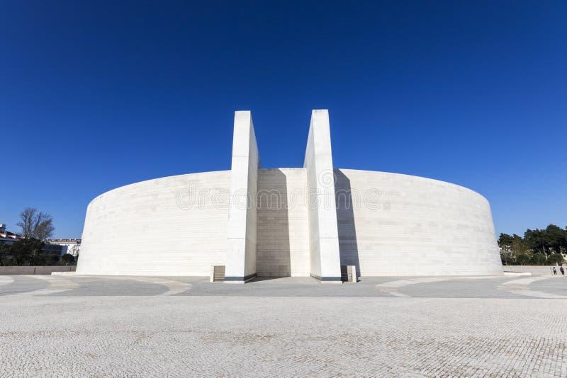 Basiliek van de Heilige Drievuldigheid, Fatima, Portugal stock foto's
