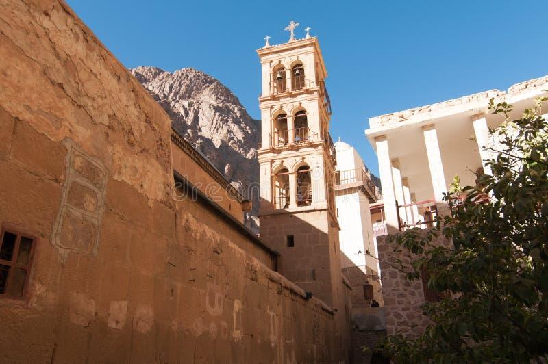 Basiliek van de Transfiguratie, Heilige Catherine - Sinai, Egyp stock foto's