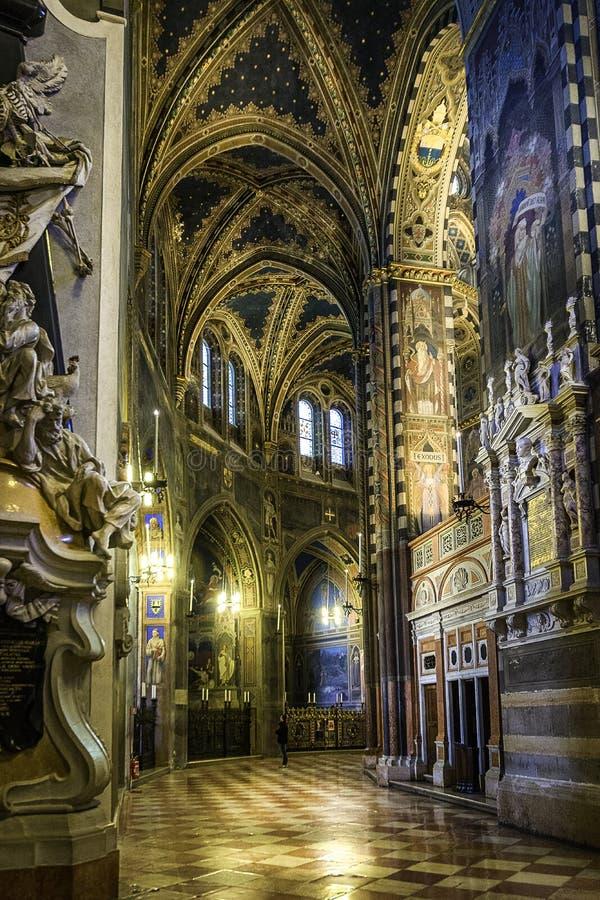 Basiliek van Heilige Anthony van Padua stock fotografie