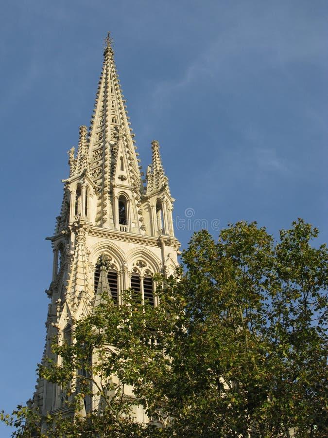 Basiliek van heilige Epvre stock afbeeldingen