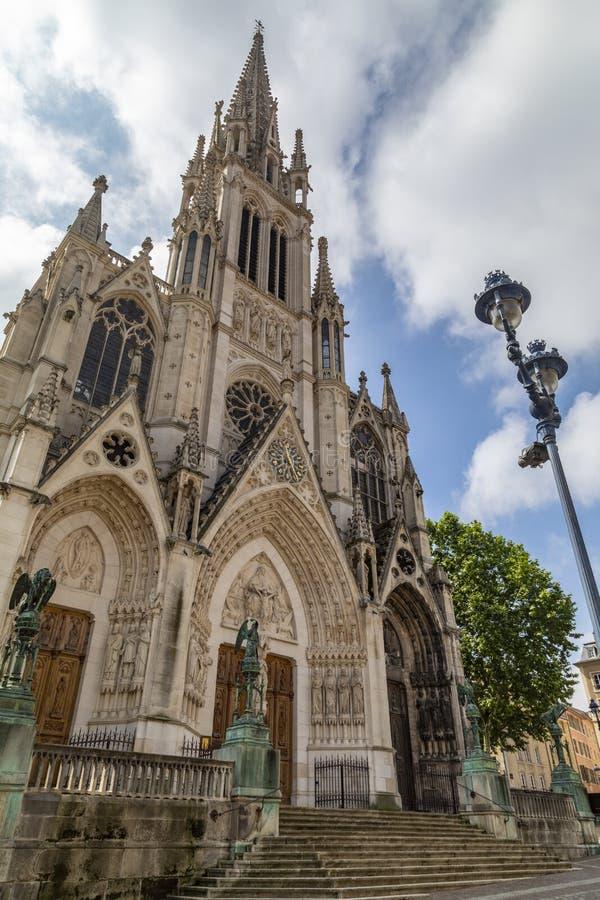 Basiliek van heilige-Epvre - Nancy - Frankrijk royalty-vrije stock fotografie