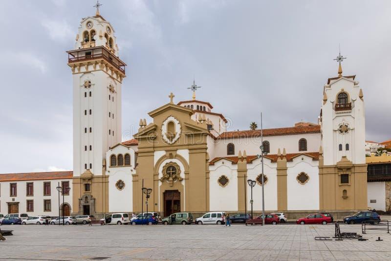 Basiliek van Onze Dame van Candelaria stock fotografie