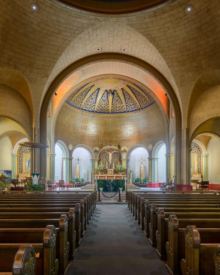 Basiliek van Opdracht San Francisco stock afbeeldingen