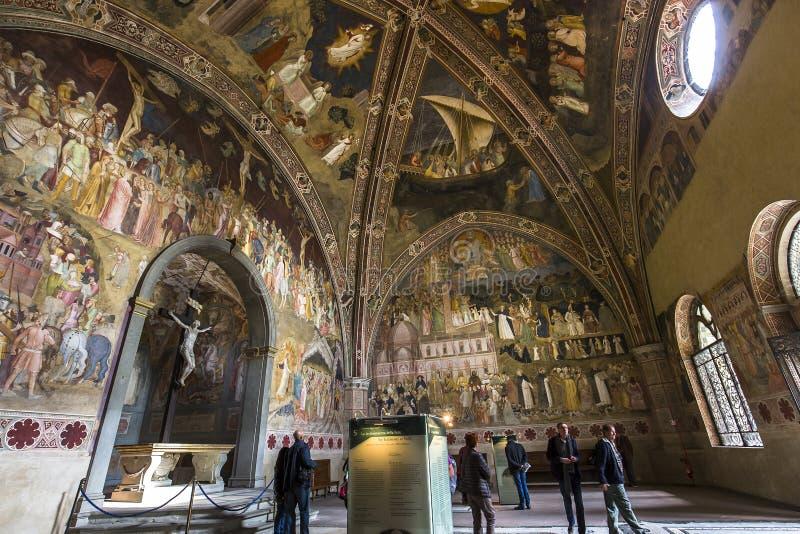 Basiliek van Santa Maria Novella, Florence, Italië stock foto