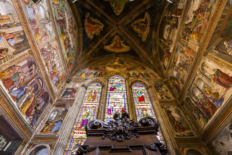 Basiliek van Santa Maria Novella, Florence, Italië royalty-vrije stock foto's