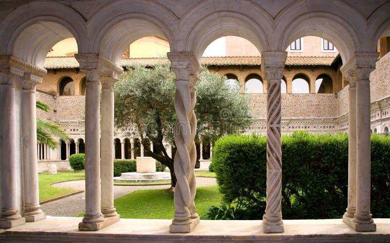Basiliek van St John Lateran royalty-vrije stock foto