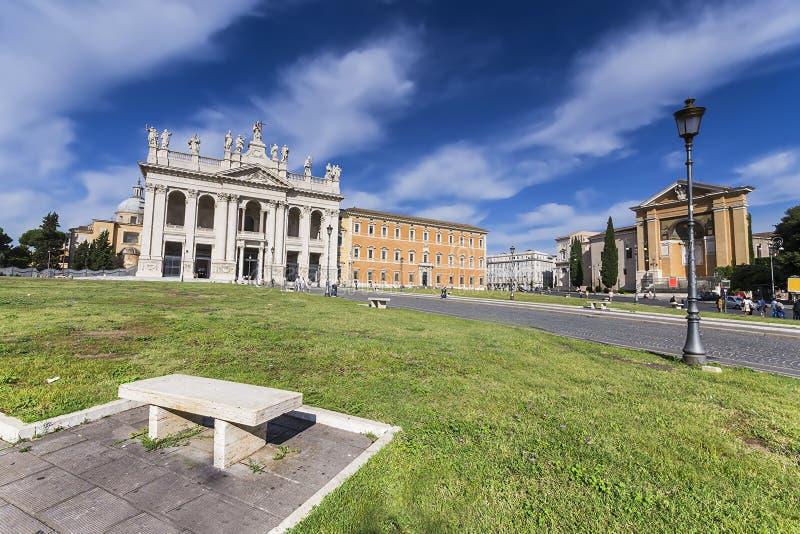 Basiliek van St John Lateran royalty-vrije stock afbeelding
