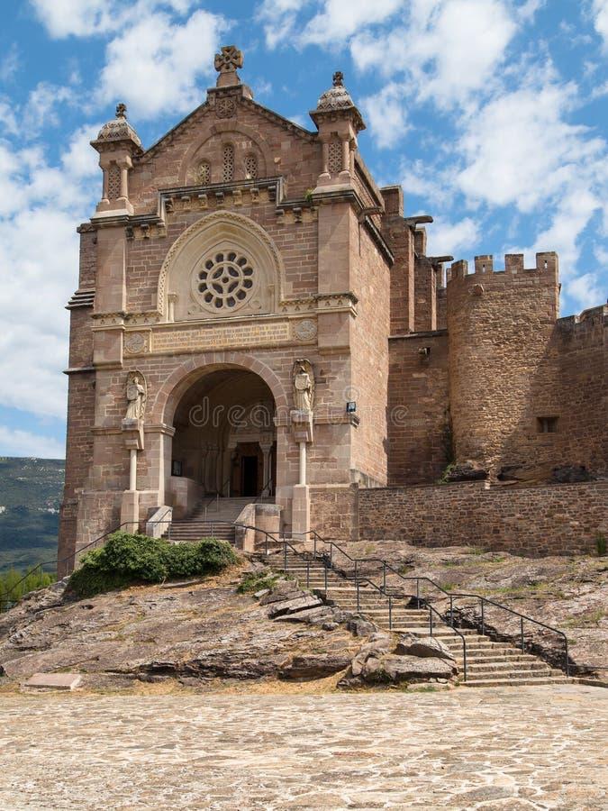Basiliek van Xavier stock afbeelding