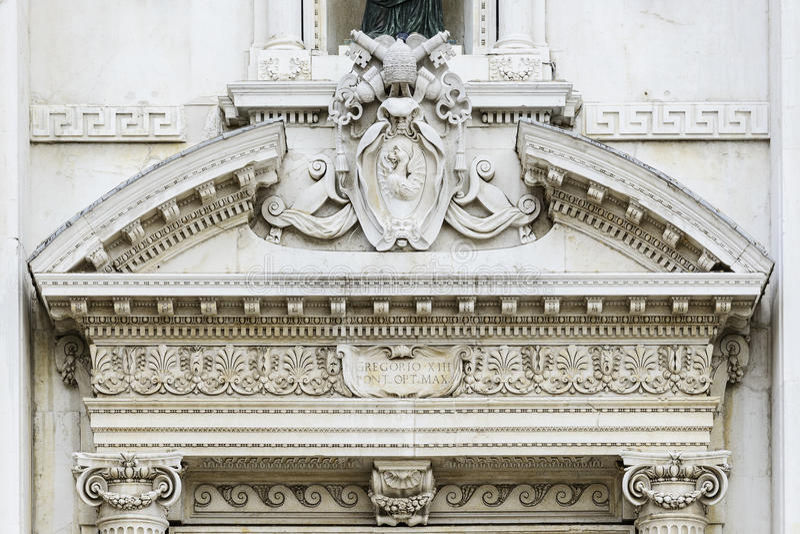 Basiliekdella Santa Casa stock afbeelding