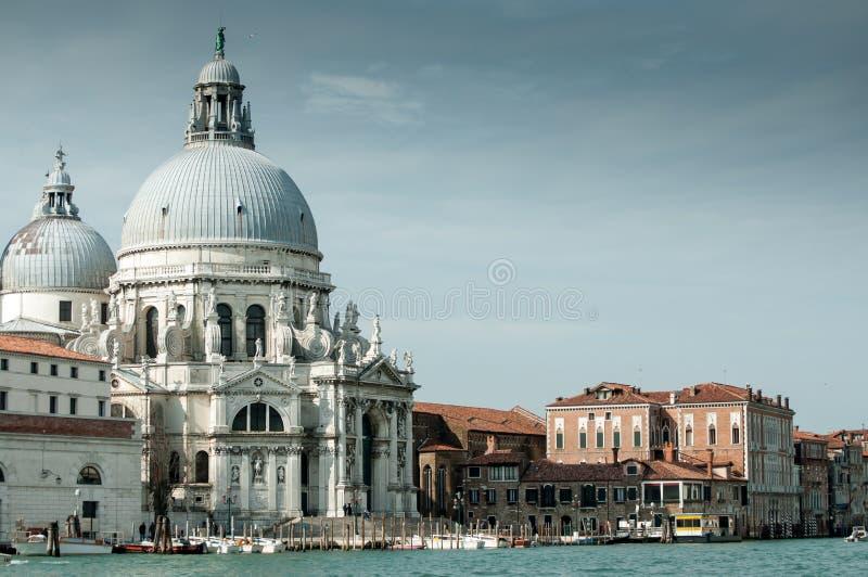 Basiliekdi Santa Maria della Salute di Venezia royalty-vrije stock afbeeldingen