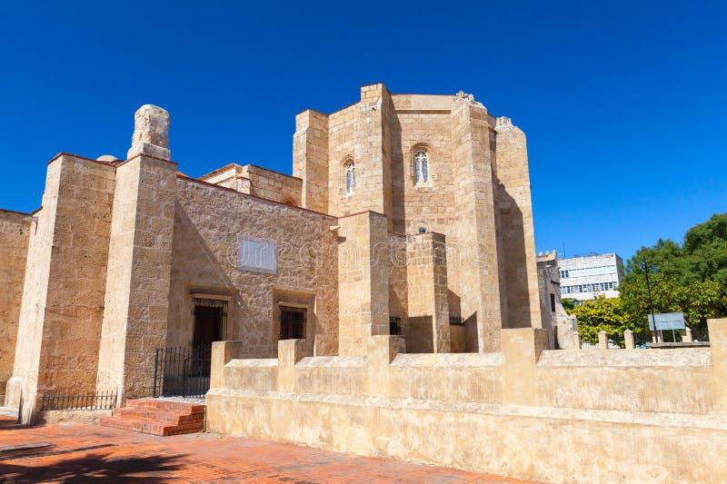 Basiliekkathedraal van Santa Maria la Menor stock foto
