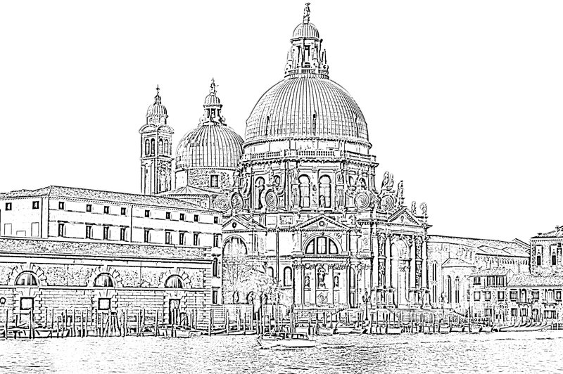 Basilika stockfotografie