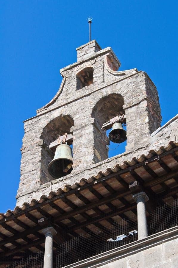 Download Basilika Av St. Flaviano. Montefiascone. Lazio. Italien. Arkivfoto - Bild av facade, town: 27278622