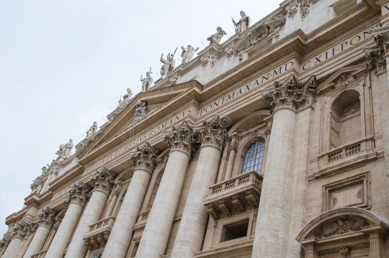 Basilika av St Peter arkivfoton