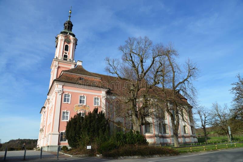 Basilika Birnau стоковые изображения