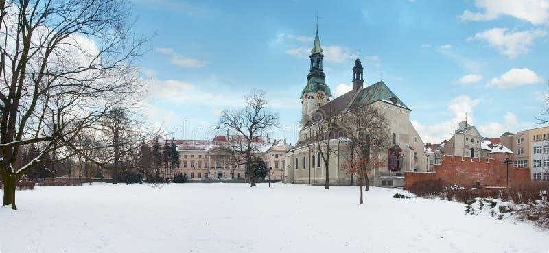 Basilika der Annahme von gesegneten Jungfrau Maria (Bazyllika stockbilder