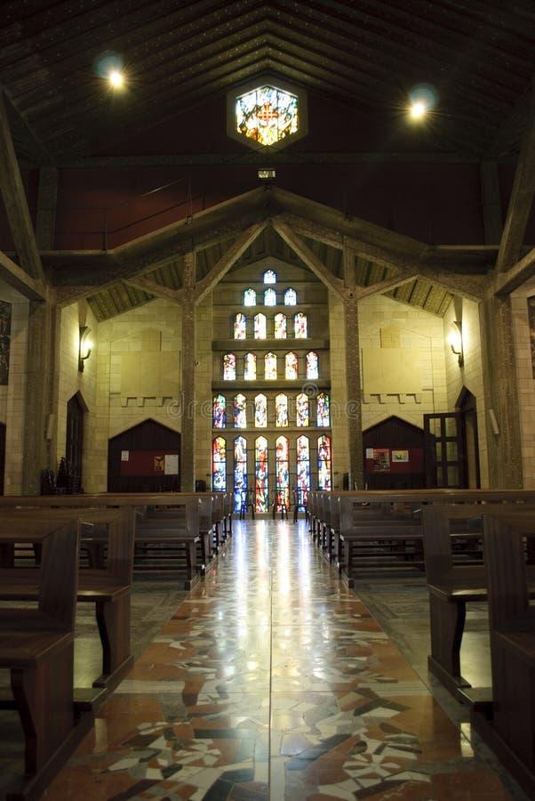 Basilika der Anzeige in Nazareth lizenzfreie stockbilder