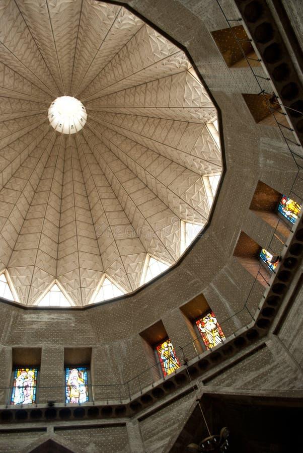 Basilika der Anzeige in Nazareth lizenzfreies stockbild