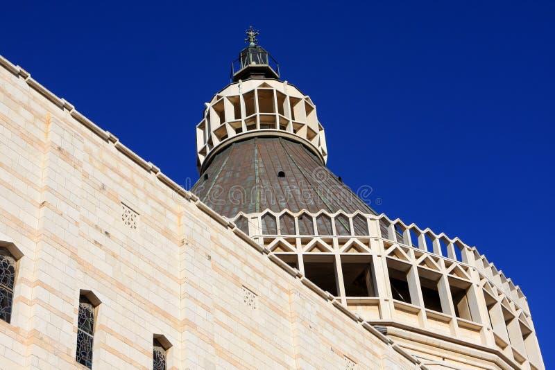 Basilika der Anzeige, Nazareth stockbilder