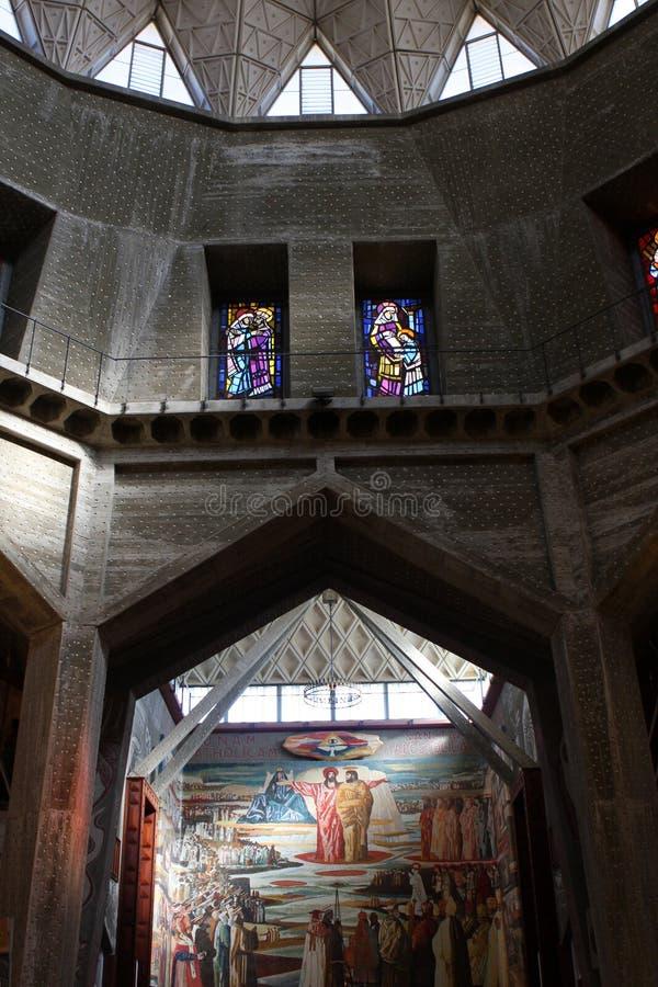 Basilika der Anzeige, Nazareth lizenzfreie stockbilder