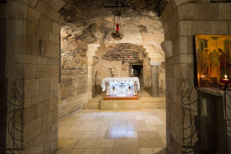 Basilika der Anzeige in Nazareth lizenzfreies stockfoto