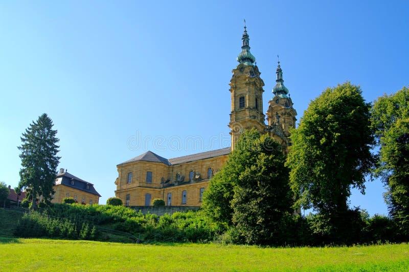 Basilika der vierzehn heiligen Helfer lizenzfreie stockfotografie