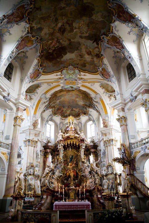 Basilika der vierzehn heiligen Helfer lizenzfreie stockbilder