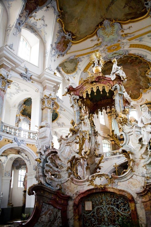 Basilika der vierzehn heiligen Helfer stockfoto