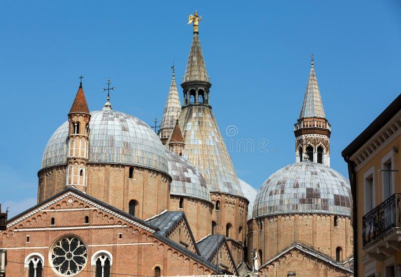 Basilika di Sant ` Antonio da Padova, i Padua royaltyfria foton