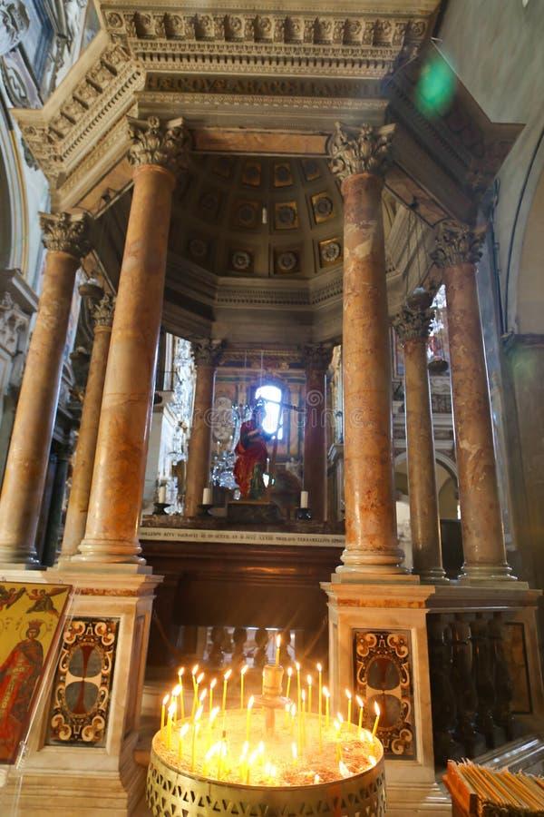 Basilika för St Petero, Italien royaltyfri foto