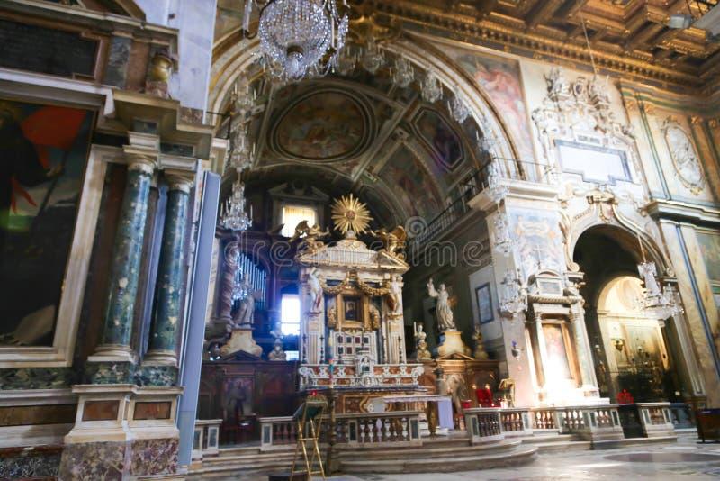 Basilika för St Petero, Italien arkivfoto