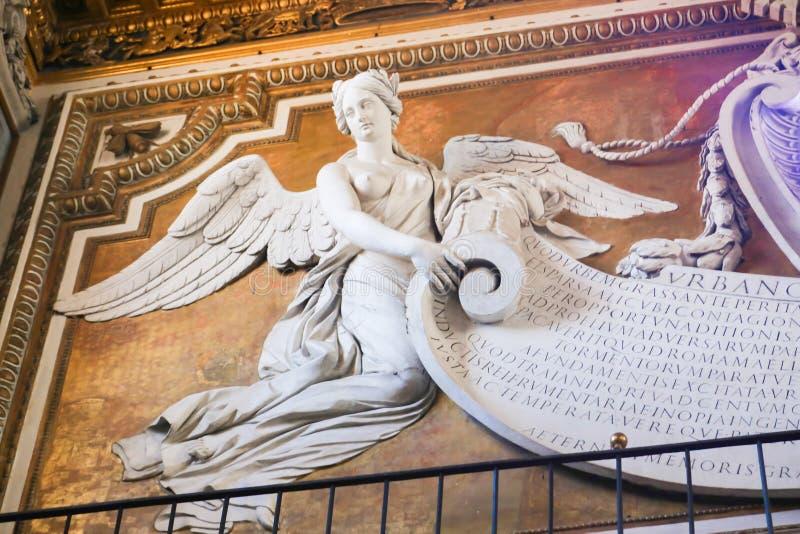 Basilika för St Petero, Vaticanen royaltyfri bild