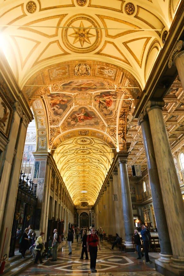 Basilika för St Petero, Vaticanen arkivbild