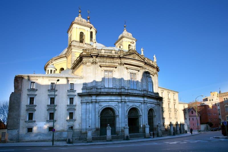 Basilika-Francisco-EL groß in Madrid stockfoto