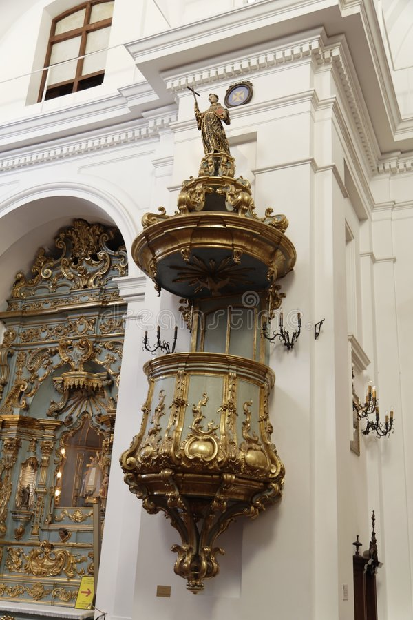 Basilika Nuestra Senhora Del Pilar - Buenos Aires lizenzfreies stockfoto
