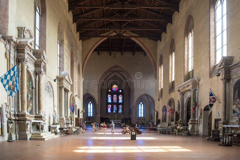 Basilika San Domenico Siena lizenzfreies stockfoto